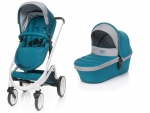 Kinderwagen Cosmo 2in1 von 4Baby türkis IF Design Award 2018